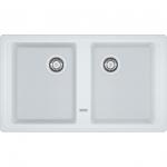 Кухонная мойка Franke BFG 620 белый, вентиль (114.0296.698)