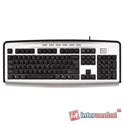 Клавиатура A4Tech KL-23 Silver-Black PS/2