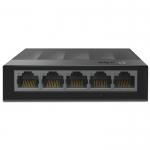 Коммутатор, TP-Link, LS1005G, 10 Гбит/с, 5 портов 10/100/1000 Мбит/с с автосогласованием, с разьёмами RJ45 (авто-MDI/MDIX)