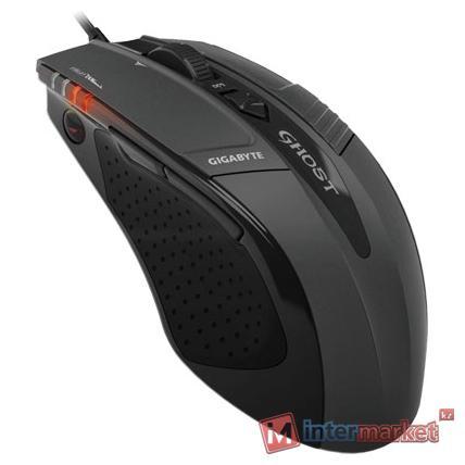 Мышь GIGABYTE M8000X Black USB