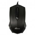 Мышь проводная Ritmix ROM-202 Black