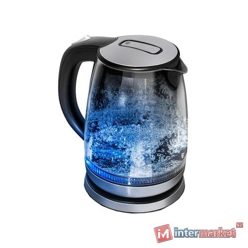 Стекло-сталь чайник REDMOND RK-G127-Е